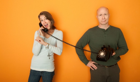 Telephone challenge people