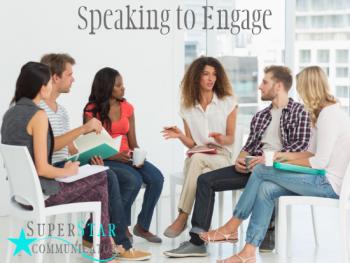 speaking to engage, speaking, training, superstar communicator, susan heaton wright, communication skills, learning, course