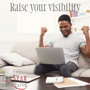 raise your visibility, superstar communicator, course, learning, susan heaton wright