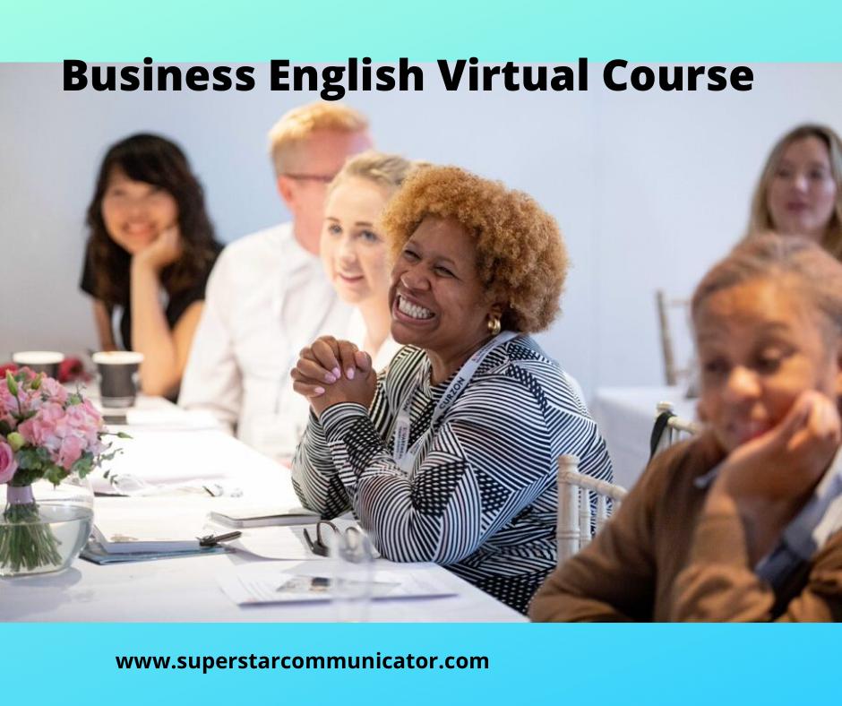 Business English virtual training course