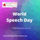 World Speech Day, celebrating excellent speeches, Superstar Communicator