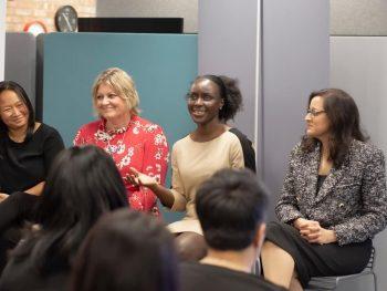 Speaker panellist, Susan Heaton-Wright, Quietly visible book Launch, Superstar Communicator, Carol Stewart