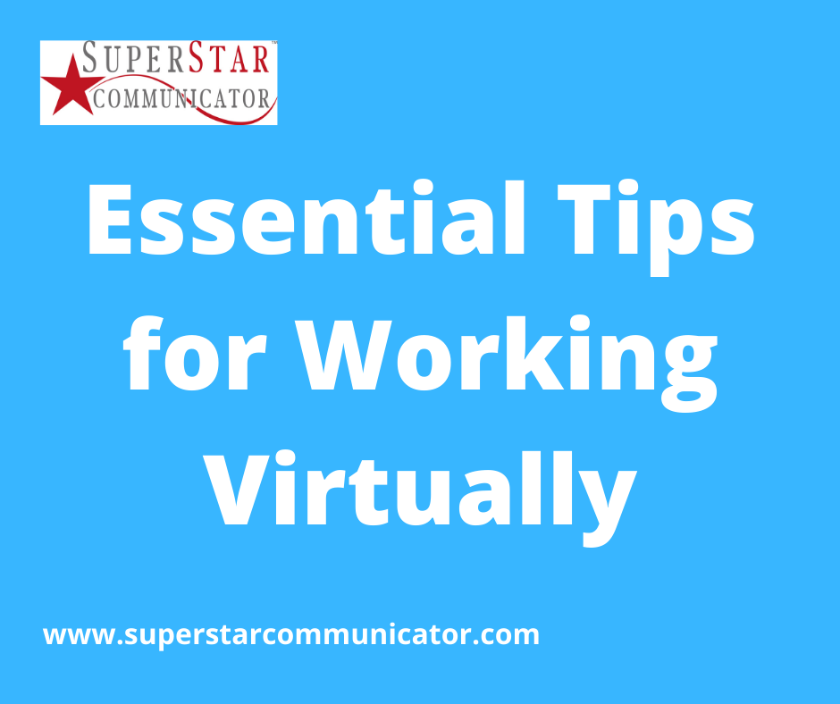 Superstar Communicator Susan Heaton-Wright shares top tips for working virtually