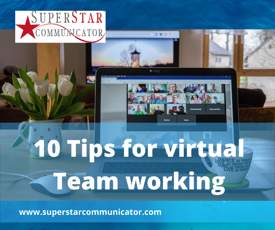 10 top tips for virtual team working with Superstar Communicator