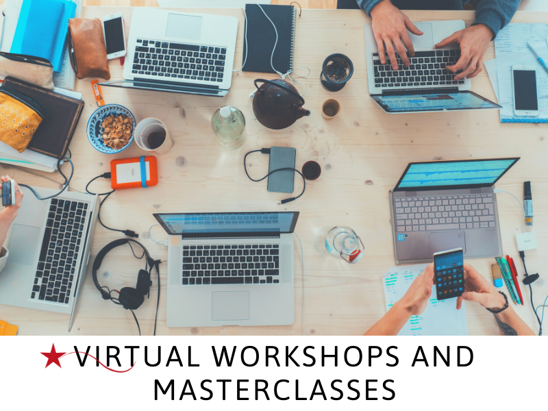 virtual workshops and masterclasses from Susan Heaton-Wright of Superstar Communicator