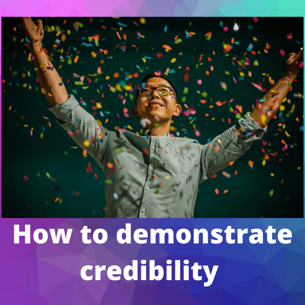 How to demonstrate credibility, Susan Heaton-Wright from Superstar Communicator