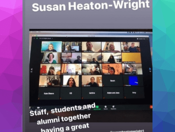 Susan Heaton-Wright in conversation at Durham Universtity