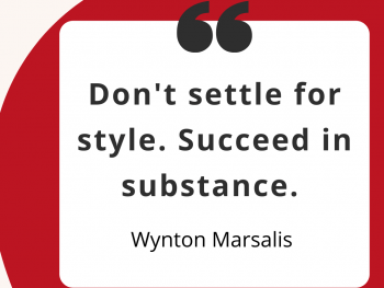 Avoid style over substance as a Superstar Communicator